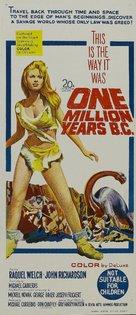 One Million Years B.C. - Australian Movie Poster (xs thumbnail)