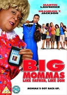 Big Mommas: Like Father, Like Son - British DVD movie cover (xs thumbnail)