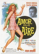 Amor en el aire - Spanish Movie Poster (xs thumbnail)