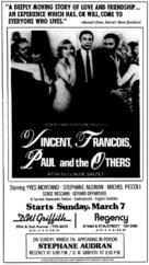Vincent, François, Paul... et les autres - poster (xs thumbnail)