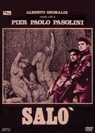 Salò o le 120 giornate di Sodoma - Italian DVD cover (xs thumbnail)