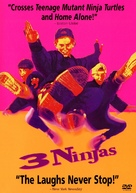 3 Ninjas - Movie Cover (xs thumbnail)