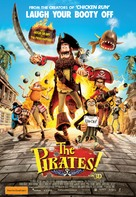 The Pirates! Band of Misfits - Australian Movie Poster (xs thumbnail)