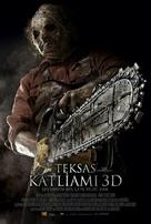 Texas Chainsaw Massacre 3D - Turkish Movie Poster (xs thumbnail)