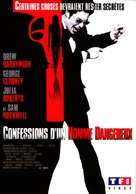 Confessions of a Dangerous Mind - French DVD movie cover (xs thumbnail)