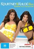 """Kourtney & Khloe Take Miami"" - Australian DVD cover (xs thumbnail)"