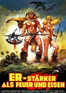 La guerra del ferro - Ironmaster - German Movie Poster (xs thumbnail)