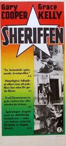 High Noon - Swedish Movie Poster (xs thumbnail)