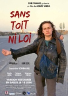 Sans toit ni loi - French Movie Poster (xs thumbnail)