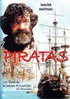 Pirates - Brazilian DVD cover (xs thumbnail)