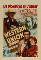 Western Union - Belgian Movie Poster (xs thumbnail)