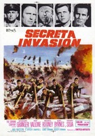 The Secret Invasion - Spanish Movie Poster (xs thumbnail)