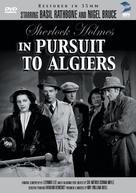 Pursuit to Algiers - DVD movie cover (xs thumbnail)