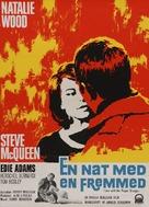 Love with the Proper Stranger - Danish Movie Poster (xs thumbnail)