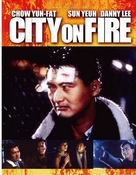 City On Fire - DVD cover (xs thumbnail)