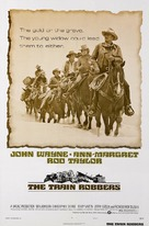 The Train Robbers - Theatrical poster (xs thumbnail)