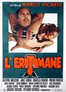 L'erotomane - Italian Movie Poster (xs thumbnail)