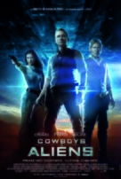 Cowboys & Aliens - Brazilian Movie Poster (xs thumbnail)