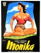Sommaren med Monika - French Movie Poster (xs thumbnail)