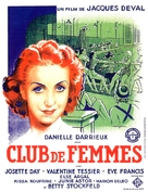 Club de femmes - French Movie Poster (xs thumbnail)