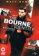 The Bourne Identity - British DVD cover (xs thumbnail)
