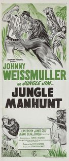 Jungle Manhunt - Australian Movie Poster (xs thumbnail)