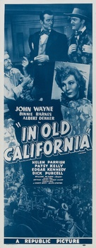 In Old California - Re-release movie poster (xs thumbnail)