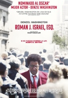 Roman J Israel, Esq. - Spanish Movie Poster (xs thumbnail)