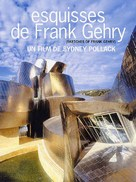 Sketches of Frank Gehry - French poster (xs thumbnail)