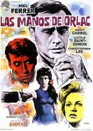 The Hands of Orlac - Spanish Movie Poster (xs thumbnail)