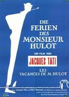 Les vacances de Monsieur Hulot - German Movie Poster (xs thumbnail)