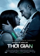 In Time - Vietnamese Movie Poster (xs thumbnail)
