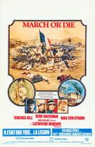 March or Die - Belgian Movie Poster (xs thumbnail)