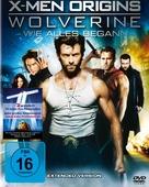 X-Men Origins: Wolverine - German DVD movie cover (xs thumbnail)