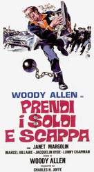 Take the Money and Run - Italian Movie Poster (xs thumbnail)