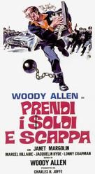 Take the Money and Run - Italian Movie Poster (xs thumbnail)