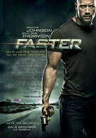 Faster - Romanian Movie Poster (xs thumbnail)