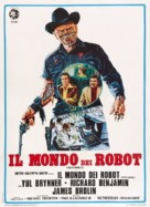 Westworld - Italian Theatrical movie poster (xs thumbnail)