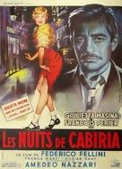 Le notti di Cabiria - French Movie Poster (xs thumbnail)