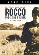 Rocco e i suoi fratelli - German DVD movie cover (xs thumbnail)