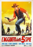 Ride a Violent Mile - Italian Movie Poster (xs thumbnail)