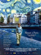 Midnight in Paris - French Movie Poster (xs thumbnail)