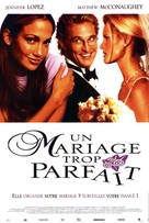 The Wedding Planner - French Movie Poster (xs thumbnail)