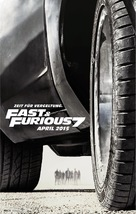 Furious 7 - Austrian Movie Poster (xs thumbnail)