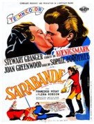 Saraband for Dead Lovers - French Movie Poster (xs thumbnail)