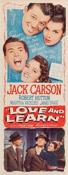 Love and Learn - Movie Poster (xs thumbnail)