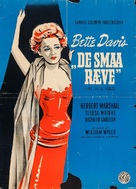 The Little Foxes - Danish Movie Poster (xs thumbnail)