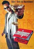 Swingers - German Movie Poster (xs thumbnail)