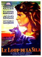 Lupo della Sila, Il - French Movie Poster (xs thumbnail)
