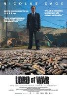 Lord Of War - Swedish Movie Poster (xs thumbnail)